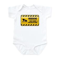 Warning Truck Driver Infant Bodysuit