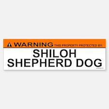 SHILOH SHEPHERD DOG Bumper Bumper Bumper Sticker