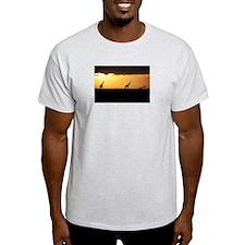 GIRAFFES AT SUNSET T-Shirt