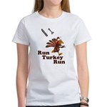 Run Turkey Run Thanksgiving Women's T-Shirt