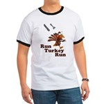 Run Turkey Run Thanksgiving Ringer T
