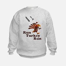 Run Turkey Run Thanksgiving Sweatshirt