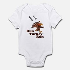Run Turkey Run Thanksgiving Infant Bodysuit