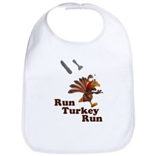 Run Turkey Run Thanksgiving Bib