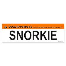 SNORKIE Bumper Bumper Sticker