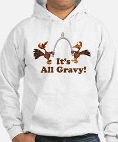 Wishbone It's All Gravy Thanksgiving Hoodie