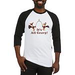 Wishbone It's All Gravy Thanksgiving Baseball Jers