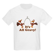Wishbone It's All Gravy Thanksgiving T-Shirt