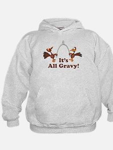 Wishbone It's All Gravy Thanksgiving Hoodie