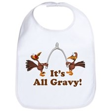 Wishbone It's All Gravy Thanksgiving Bib