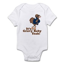 It's Gravy Baby Yeah Thanksgiving Infant Bodysuit