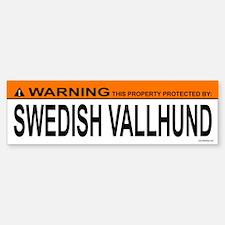SWEDISH VALLHUND Bumper Bumper Bumper Sticker