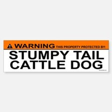 STUMPY TAIL CATTLE DOG Bumper Bumper Bumper Sticker