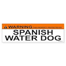 SPANISH WATER DOG Bumper Car Sticker