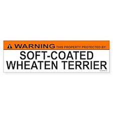 SOFT-COATED WHEATEN TERRIER Bumper Bumper Sticker