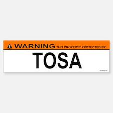 TOSA Bumper Bumper Bumper Sticker