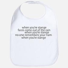STRANGE Bib
