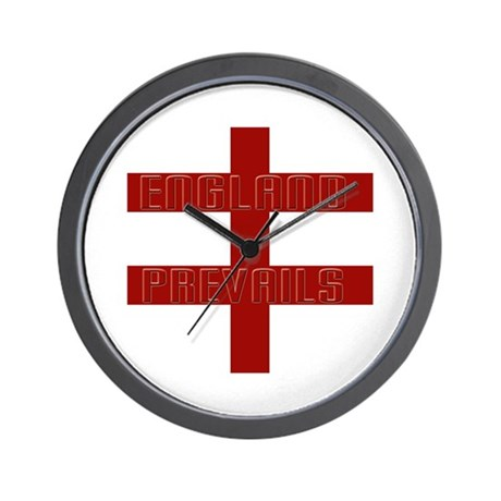 England prevails Wall Clock