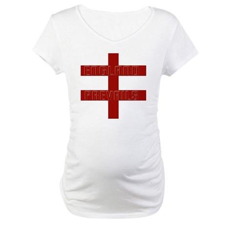England prevails Maternity T-Shirt