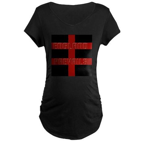 England prevails Maternity Dark T-Shirt