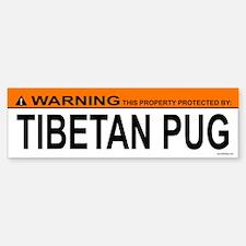 TIBETAN PUG Bumper Bumper Bumper Sticker