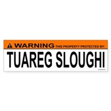 TUAREG SLOUGHI Bumper Bumper Sticker