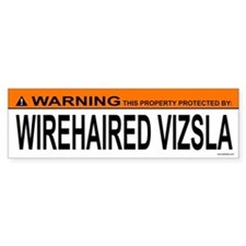 WIREHAIRED VIZSLA Bumper Bumper Sticker