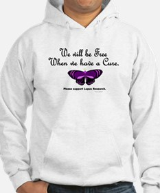 Butterfly Awareness 5 (Lupus) Hoodie