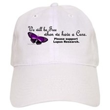 Butterfly Awareness 5 (Lupus) Hat