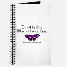 Butterfly Awareness 5 (Lupus) Journal