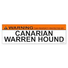 CANARIAN WARREN HOUND Bumper Bumper Sticker