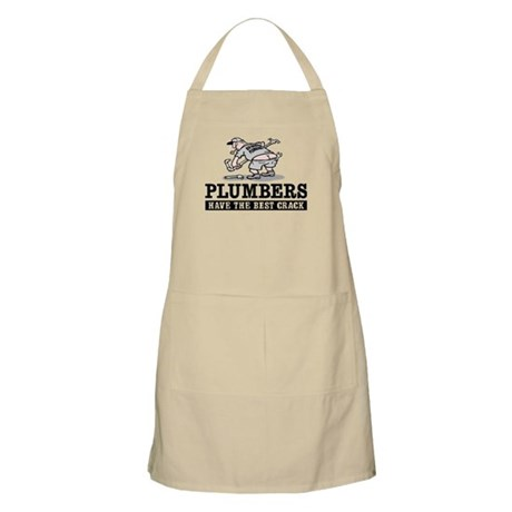 PLUMBERS CRACK BBQ Apron