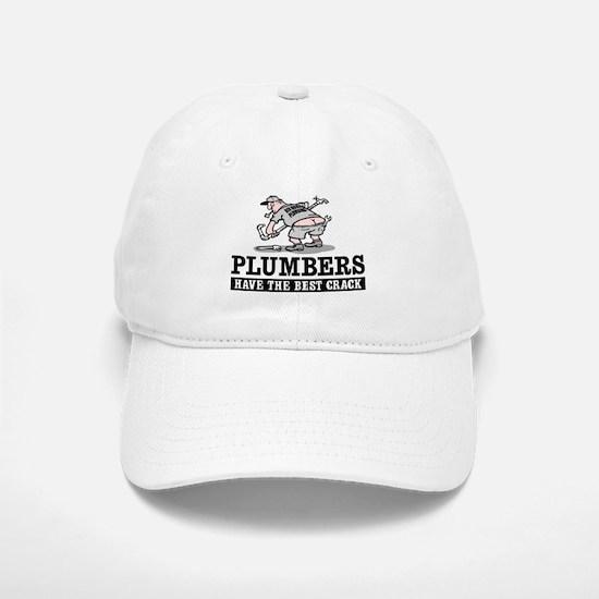 PLUMBERS CRACK Baseball Baseball Cap