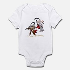 I love chickadees Infant Bodysuit