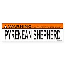 PYRENEAN SHEPHERD Bumper Bumper Sticker