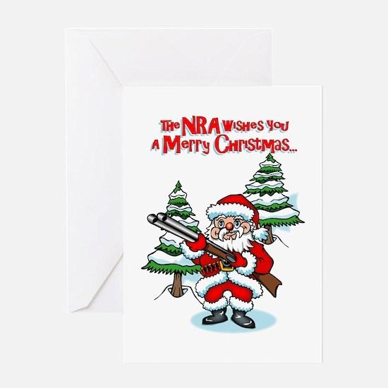NRA Santa Xmas Card