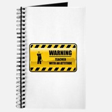 Warning Teacher Journal