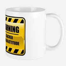 Warning Teacher Mug