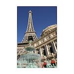 Paris Las Vegas Mini Poster Print