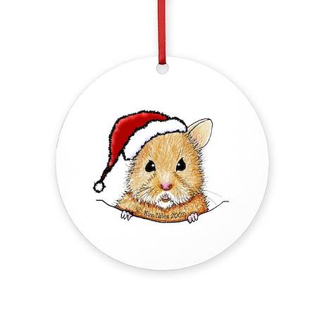 Pocket Goldendoodle Ornament (Round)