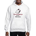 Funny Doctor Hand Surgeon Hooded Sweatshirt