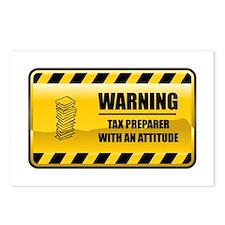 Warning Tax Preparer Postcards (Package of 8)