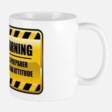 Warning Tax Preparer Mug