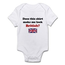 Make Me Look British Infant Bodysuit