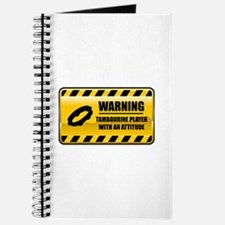 Warning Tambourine Player Journal