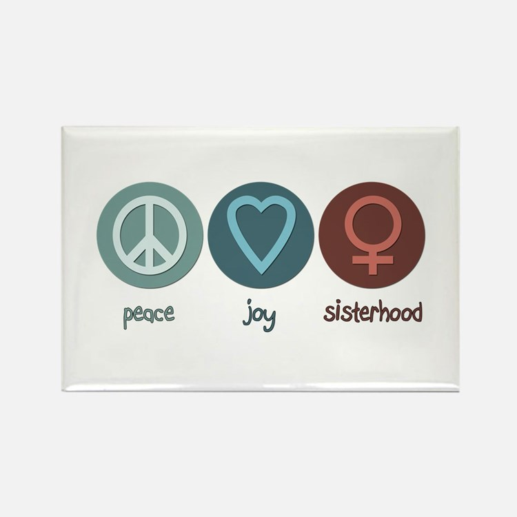 Peace Joy Sisterhood Magnets