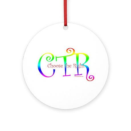 CTR Ornament (Round)