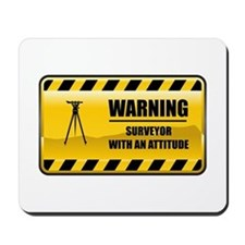 Warning Surveyor Mousepad