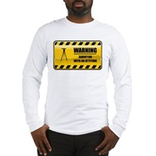 Warning Surveyor Long Sleeve T-Shirt