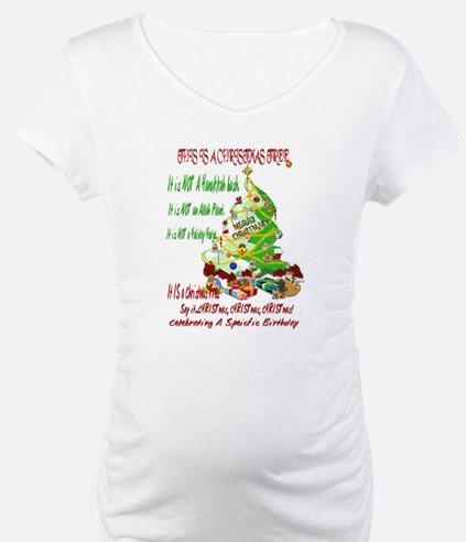 This Is A Christmas Tree Shirt